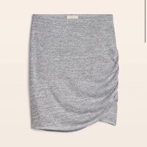 Wilfred Free Kass mini skirt marl light grey XS